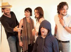 Game of Thrones Cast: Nikolaj Coster-Waldau (Jaime Lannister), Lena Headey (Cersei Lannister), Emilia Clarke (Daenerys Targaryen), Peter Dinklage (Tyrion Lannister), Kit Harington (Jon Snow)