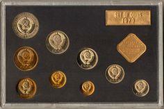 1979 Leningrad Mint Set of Coins of The USSR Original Box | eBay
