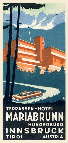 Inspiration: Art of the Luggage Label Archive on Flickr.