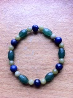 Peace and Calm a bracelet to fit a wrist of 7 & by Crystalcures4u, $24.00