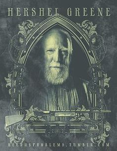 Hershel Greene portrait