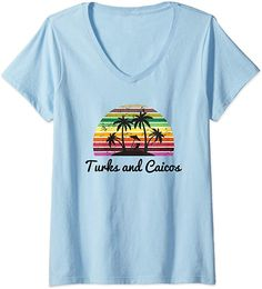 Amazon.com: Womens Turks and Caicos Shirt Vacation Holiday Gift. V-Neck T-Shirt: Clothing Grace Bay travel or holiday souvenir tee shirt are the perfect to wear on your trip of are the perfect gift for someone travelling to Turks & Caicos. Grace Bay Vacation Shirt Turks & Caicos Travel Holiday Tee. #Turks&Caicos #TurksandCaicos #Turks&Caicosshirts Turks And Caicos Vacation, Vacation Shirts, Tee Shirts, Tees, Holiday Travel, Branded T Shirts, V Neck T Shirt, Holiday Gifts, Fashion Brands