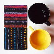 Bombotti | Weecos, Mummolan talviyö, coaster set Coaster Set, Barware, Coasters, Tumbler