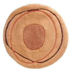 Creative Bath Dot Swirl Bath Rug
