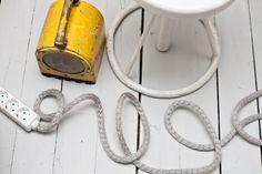 DIY cord cover by Parolan Asema