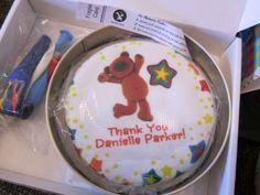 Don't send a card, send a cake instead! Letterbox Cake from Baker Days Review   Blog by Baby