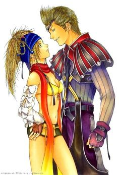 Will and Won't by ~OmegaBooster - Final Fantasy X/2 - Rikku / Gippal