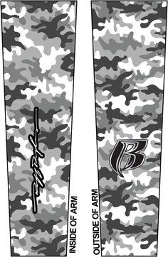 Ruff Ryders- Custom Arm Sleeve