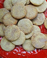 This recipe for biscochitos, rich cinnamon-sugar cookies from Mexico, makes an extra-large batch so there's plenty for your holiday cookie swap.
