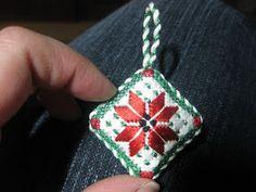SUKYLADY'S STUDIO: Finishing a small ornament