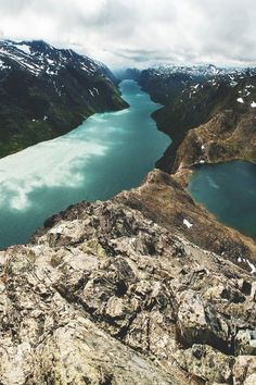 At the Jotunheimen National Park in Norway.