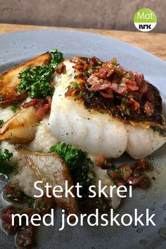 Denne må prøves Norwegian Cuisine, Norwegian Food, Fish Recipes, New Recipes, Favorite Recipes, Cooking Contest, Fish Dinner, I Foods, Food Inspiration