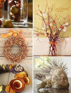 ~ Thanksgiving Decorations ~