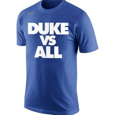 2aed3a36c72f Men s Nike Royal Duke Blue Devils Selection Sunday All T-Shirt