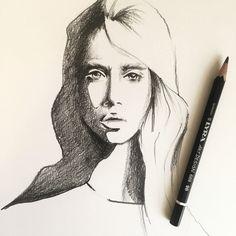 Pencil portrait | Sketching