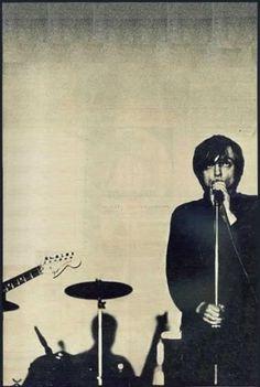 mes. mark e smith. the fall. by Anton Corbijn cover of The NME 14/11/1981.