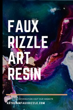 Faux Rizzle UV Art Resin is non toxic, and foodsafe. Visit our website to get inspired and learn more. Diy Resin Coffee Table, Tenacious D, Abstract Painting Techniques, Nail Polish Crafts, Diy Resin Crafts, Resin Tutorial, Resin Artwork, Diy Painting, Pour Painting