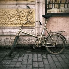 Broken Bicycle by e_islamov Abstract Photography #InfluentialLime