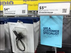 See Customer Specialist Front Tag Overview Fiber Optic, Hooks, Retail, Fish, Tags, Blue, Color, Pisces, Colour