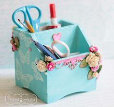 Ornament, Anna, Container, Organization, Paper, Scrap, Boxes, Crafts, Ideas