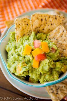 Mango Guacamole. - The best mango guacamole recipe you