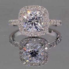 Gorgeous diamond ring. More More