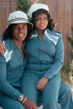 Jermaine Jackson and Hazel Gordy