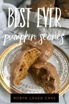 Delicious and easy pumpkin scones!