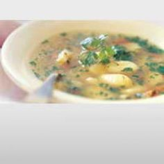Hønsekødssuppe med Gnocchi opskrift
