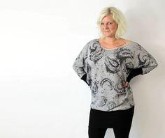 Nähanleitungen Mode - ebook Gula - Fledermauskleid & Shirt XS-XXL - ein Designerstück von -erbsuende bei DaWanda
