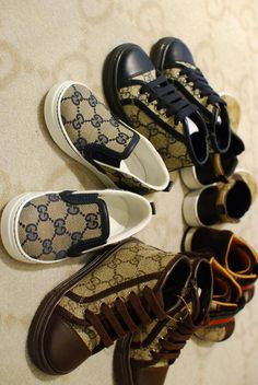 Kids in Gucci Shoes