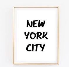 new york quote city Typographic Print Quote art print wall decor Typography family decor pintrest poster framed quote tumblr room decor