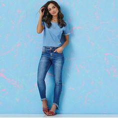 Closet Lit: Jeans Skinny Barra Desfiada! #closetlit
