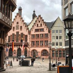 Streets of Frankfurt, Germany. Travel Ideas, Travel Tips, Frankfurt Germany, Places In Europe, Classical Architecture, Germany Travel, Beautiful Places, Wordpress, Around The Worlds