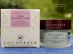 Locherber Couperose 24 hours cream for a firm, healthy and hydrated skin, creates a protective barrier that reinforces the skin's defenses during the day, regenerating skin's self-defense during t