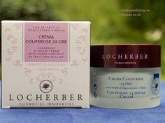 Locherber Crème Couperose is een verzorgende gezichtscrème voor de gevoelige huid. De crème vermindert roodheid, droogheid en de zichtbaarheid van adertjes en is sterk huidherstellend.
