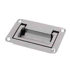 110mm x 70mm Cabinet Rectangular Grip Recessed Flush Pull ...