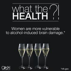 Enjoy your New Year's Eve, but don't overdo it. Your brain will thank you!  #WhatTheHealth