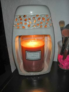Candle Warmers Etc Giveaway - Win a Candle Warmer & City Creek Candle in you choice of scent! Ends 2/28