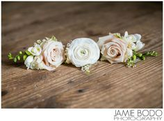 Rose boutonniere's at Rustic Rodes Barn Wedding in Swedesboro NJ {Will + Kristen}