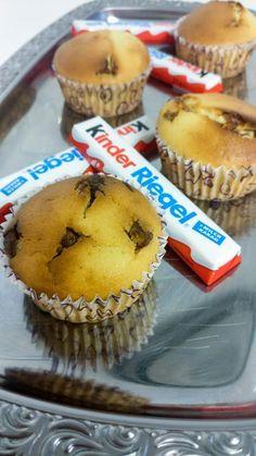 Rezept Kindergeburtstagstipp: Kinderschokoladen-Muffins.Ihr wisst nicht was ihr bei einem Kindergeburtstag backen sollt? Da hab ich genau das richtige.