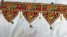 Toran India Ethnic Embroidery Door Valance Vintage Wall Window Decor Hanging T02 #Unbranded #IndianToran