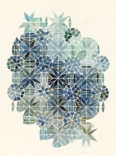 Elvira Wersche Westerstede, Germany) lives and works in The Netherlands since sammlung weltensand. Geometric Designs, Geometric Art, Geometric Painting, Graphic Patterns, Print Patterns, Graphic Design, Illustrations, Illustration Art, Pattern Art