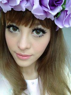 Dolly makeup look ; Thai makeup artist Pearypie
