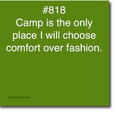 Let's be honest... How many of us take a regular amount of showers during camp?