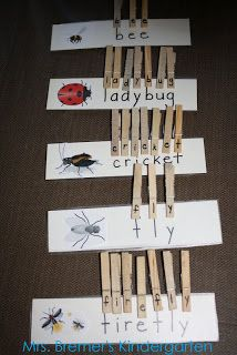 letter clips to make words