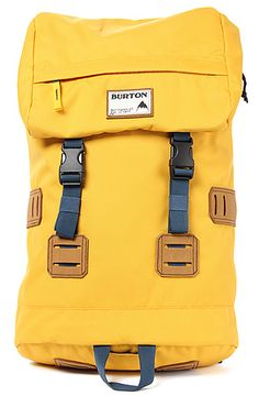 Burton Backpack Tinder Rucksack in Yellow Burton Backpack, Backpack 2017, Minimalist Bag, Back Bag, Dressing, Designer Backpacks, Cool Backpacks, Mellow Yellow, Laptop Bag