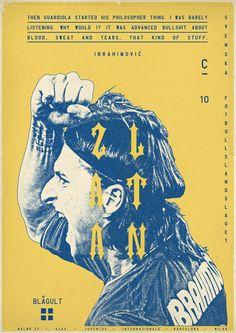 Zlatan Ibrahimovic by Zoran Lucic