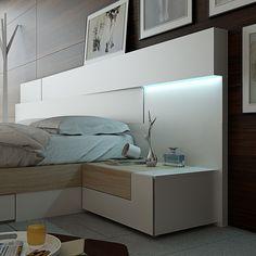Dormitorios modernos: colección angular Garcia Sabaté