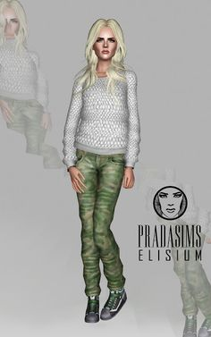 Elisium Set - Clothing at Prada Sims - Sims 3 Finds